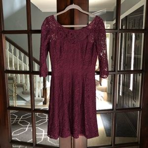 White House Black Market lace dress 8